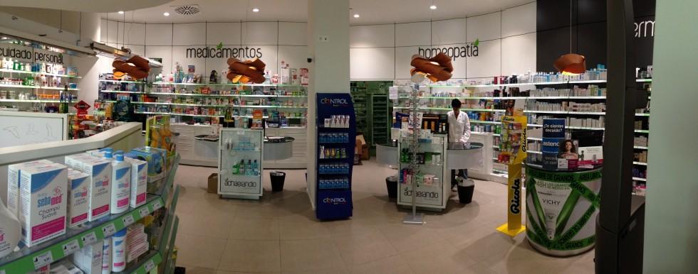 Vista general farmacia